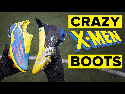 adidas x Marvel X-Men boots play test | THESE WILL SPLIT OPINION!