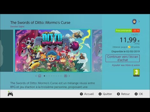 The Swords of DITTO : Mormo's Curse - Trailer Nintendo Switch