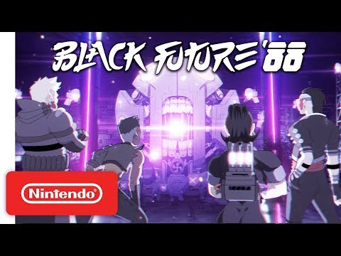 Black Future '88 - Announcement Trailer - Nintendo Switch