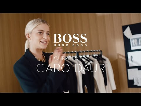 Caro Daur presents the new collection - BOSS curated by Caro Daur | BOSS