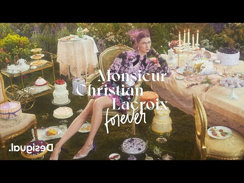 Desigual x Monsieur Christian Lacroix Forever: 10 years together   SS21 collection