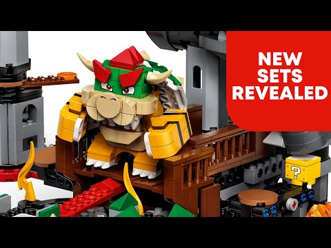 A closer look at LEGO Mario! (with a few surprises)