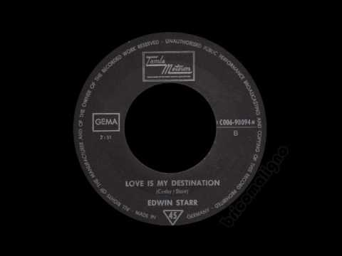 Edwin Starr - Love Is My Destination