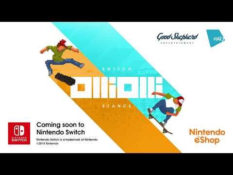 OlliOlli: Switch Stance - PEGI Announcement Trailer