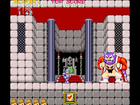Ghosts 'n Goblins Longplay (Arcade) [60 FPS]