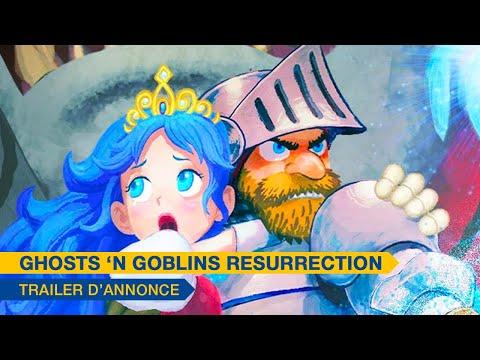 Ghosts 'n Goblins Resurrection - Announcement Trailer (FR)