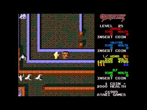 Gauntlet (Arcade) - Wizard Play