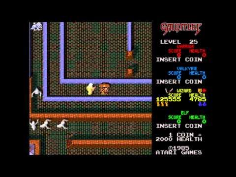 Gauntlet (Arcade) - Wizard Play
