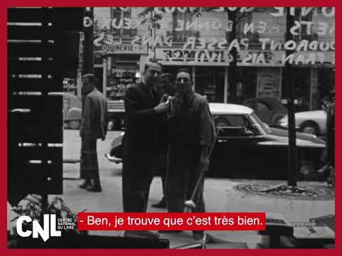 [CNL] Je lis… moi non plus | Un allumeur de réverbères devant une librairie en 1966