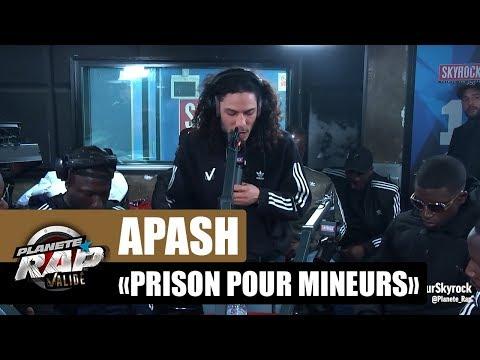 """Apash """"Prison pour mineurs"""" #PlanèteRap"""