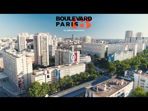 Boulevard Paris 13 by Galerie Itinerrance (Official Video)